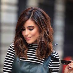La moda en tu cabello: Cortes de pelo medio con ondas -Tendencias 2016-2017