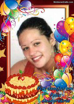 Birthday Photo Frame, Happy Birthday Frame, Happy Birthday Wishes Images, Birthday Cake With Photo, Happy Birthday Pictures, Birthday Frames, Happy Birthday Cakes, 70th Birthday, Birthday Photos