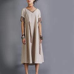 Rain embroidered long dress by idea2lifestyle on Etsy, $59.00