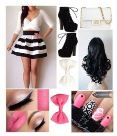 """""""Party!"""" by sanchez-ashley ❤ liked on Polyvore featuring Design Inverso, H&M and Christian Louboutin"""