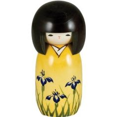 Kokeshi - I have this one! This was given to me from Vin and Ali when they were in Japan! and I found it here on this site... :-)