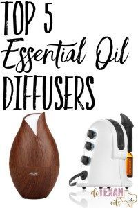 The top 5 essential oil diffusers for a crunchy mama (or anyone, for that matter)! #doterra #butnotalldoterra