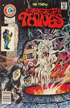 Cover for Creepy Things (Charlton, 1975 series) #4