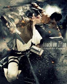 Attack on Titan - yuu Levi Ackerman Cosplay Photo - Cure WorldCosplay