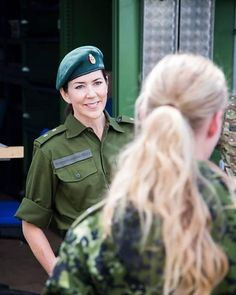 Just smile  The Crown Princess participating in the Home Guard's land exercise, 04.06.2016