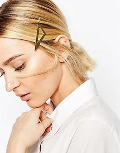 ASOS Asymmetric Triangle Hair Clip