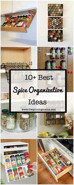 10+ Best Ways to Organize Spices