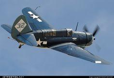 Curtiss SB2C-5 Helldiver N92879 83589 Midland Int'l Airport - KMAF