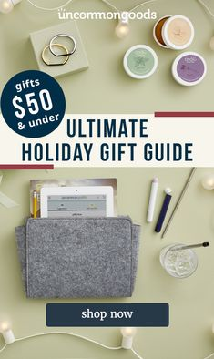Hate Boring Gifts? Us too. Holiday Gift Guide, Holiday Gifts, Cool Gifts, Unique Gifts, Creative Christmas Gifts, 50th, Gift Ideas, Original Gifts