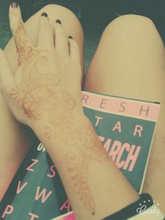 Did my henna tattoo yesterday !!!