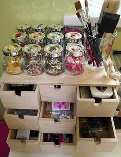 Organize craftroom