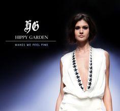 Hippy Garden Showroom Masarykova 5 www.hippygarden.net  Elegance and style - Duality Collection SS/14 Explore more:http://hippygarden.net/spring-summer-20142015-duality/?lang=hr  #fashion #brand #design #hippygarden #croatia #masarykova5 #jumpsuit #white #blue