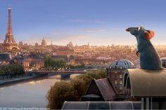 Ratatouille (movie) A scene from the film Ratatouille.
