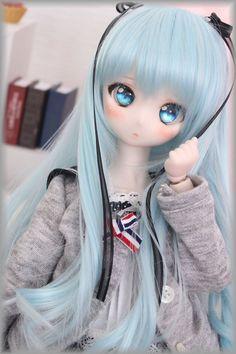 Fine Porcelain China Diane Japan Value Tv Anime, Anime Chibi, Anime Dolls, Blythe Dolls, Pretty Dolls, Beautiful Dolls, Personajes Monster High, Enchanted Doll, Kawaii Doll