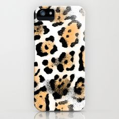 Fur V iPhone & iPod Case by Rain Carnival - $35.00 I hope you like it! #iphone #case #skin #fur #leopard