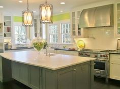 Bright & Open Kitchen - modern - kitchen - charlotte - Guthmann Construction