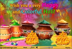 Wish your family a very happy & colorful #Holi with this beautiful #ecard. Birthday Cake Gif, Holi Festival Of Colours, Holi Wishes, Gayatri Mantra, Positive Attitude Quotes, Happy Holi, Ethereal, Joy, Colorful