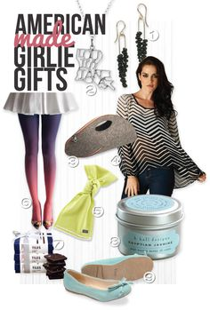 Girlie Gift Guide American Made #MadeinUSA