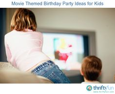 This guide is about movie themed birthday party ideas. With so many films to choose from, it can be fun to have a birthday party with a favorite movie theme.