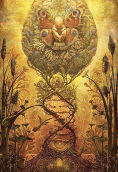 Burning Man 2008 Poster porción C & C Ench Coooool Event tooo! Burning Man is an event I'm planning to attend someday Psychedelic Art, Fantasy Kunst, Fantasy Art, Digital Art Illustration, Aleister Crowley, Psy Art, Mystique, Visionary Art, Sacred Art