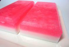 Cherry Blossom Salt Bar Soap  Floral Scented by asliceofdelight, $5.50
