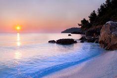 Thassos Island, Saliara Beach, Greece..