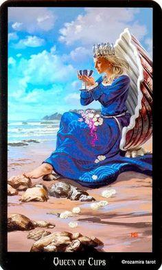 La reine de coupes - Tarot sorcières par Ellen Dugan & Mark Evans