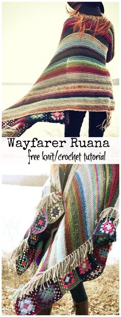 When I began drafting this post over a year ago, it was to take notes on my first attempt at some of the beautiful and colorful knit ruanas I had seen floating around online. Unfortunately for me, …