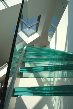 Glasstiege, Biedermeierhof, Design : project-m, M. Staircases, Stairs, Projects, Design, Home Decor, Ladders, Log Projects, Homemade Home Decor, Stairway