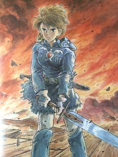 infinitemachine • speakingofcomics:   The Art Of Nausicaa Of The...