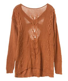 Look at this Sunburnt Soothsayer Sweater - Women on #zulily today!
