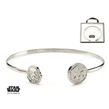Body Vibe x Star Wars Stormtrooper Galactic Empire split cuff bracelet ⭐️ Star Wars fashion ⭐️ Geek Fashion ⭐️ Star Wars Style ⭐️ Geek Chic ⭐️