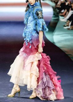 Christian Lacroix Haute Couture, Fall/Winter 2003-2004.