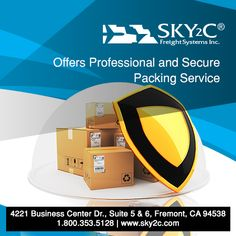 Professional Packing Services Transport Your Cargo in the Safest and Most Efficient Way