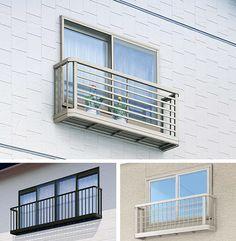 手すり3WT 窓辺で四季の彩りを楽しめるフラワーボックス機能付の窓手すり。