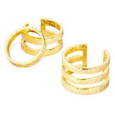 Sugarfix by BaubleBar Trio Ring Set - Gold