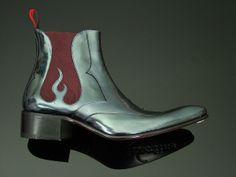 Rochester - 'Reaper' Chelsea Boot #JefferyWestUK #JefferyWestUSA #MensShoes #Style #Mensstyle