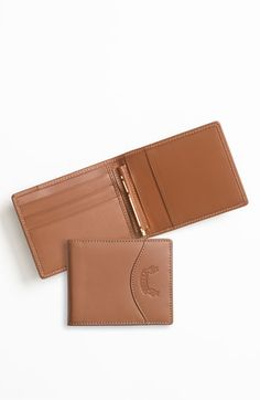 Ghurka Leather Money Clip Wallet | Nordstrom