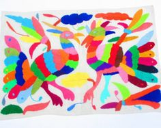 NEW Mexican Otomi fabric,