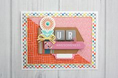 Shellye McDaniel: You Are Awesomeness Basic Grey, Eye Candy, Scrapbook, Awesome, Frame, Projects, Blog, Inspiration, Handmade Cards