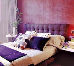Do roxo ao lavanda, o tom moda da nos quartos!!! no casinhacolorida-simone.blogspot.com.br