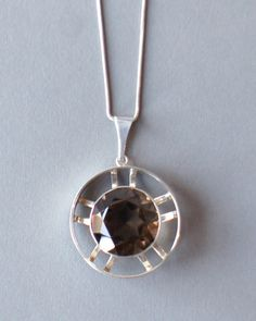 Topaz Jewelry, Pendant Jewelry, Unique Necklaces, Vintage Designs, Jewelery, Vintage Jewelry, Modernism, Jewelry Design, Welsh