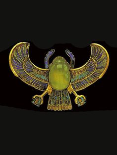 Egyptian scarab beetle