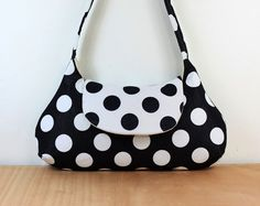 Polka dots bag