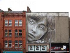 Wall murals by Guido van Helten | http://ineedaguide.blogspot.com/2015/02/guido-van-helten.html #art #streetart
