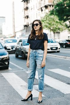 MFW-Milan_Fashion_Week-Spring_Summer_2016-Street_Style-Say_Cheese-Eleonora_Carisi-Jeans-