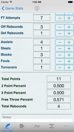 Blank Basketball Stat Sheet Printable  Print This Blank Stat
