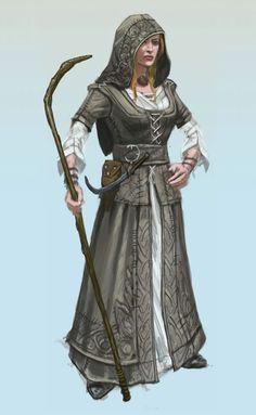 Miriam, contadina di Milior. Dopo essere stata catturata da alcuni cultisti di Clavicus, è stata liberata dalle Zanne.