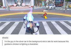 pokemon lamp chicken tumblr funny