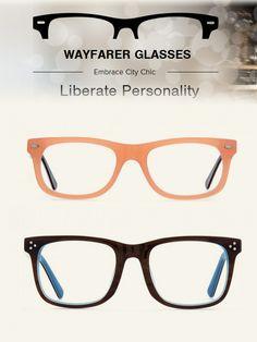 611a8517922e wayfarer glasses :embrace city chic #eyewear #eyeglasses Happy 2015, Black  Frames,